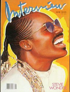 Stevie Wonder - Interview Magazine 1986