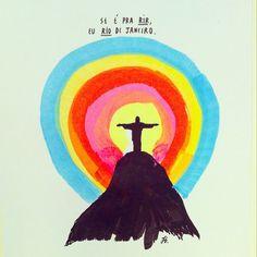 ilustras lindas do querido Felipe Guga