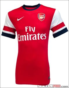 Nike Arsenal Home Jersey 2012-2013...$76.49