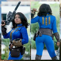 Featured cosplayer: Bree The V. ⭐  #28daysofblackcosplay #fallout #videogames #scifi #cosplay Fallout Bethesda Softworks