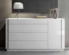 white bedroom dressers. J M Furniture Amora Dresser in White Lacquer  Chrome Modrest Voco Modern Bedroom bedroom