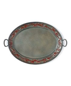 Look what I found on #zulily! Art Nouveau Oval Tray #zulilyfinds