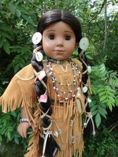 BEAUTIFUL NATIVE AMERICAN GIRL KAYA DOLL