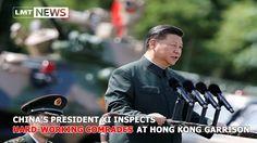 China's President Xi inspects 'hard-working comrades' at Hong Kong garri...
