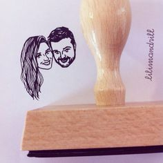 Custom Face Stamp @lilimandrill www.lilimandrill.fr #etsy #couples portraits #EtsyGifts #EtsySuccess #etsywedding #wedding #mariage #bride #diy #couple #stamp #rubberstamp #shopsmall #handmade #gift #weddinggift #invitations #weddinginvitations #invites #etsylove #etsymatch #engagement #bridesmaid