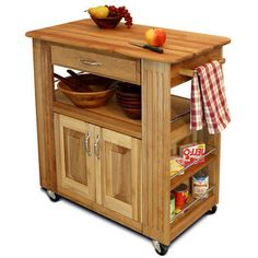 Kitchen Cabinet Islands - Heart-Of-The-Kitchen Island by Catskill Craftsman | KitchenSource.com