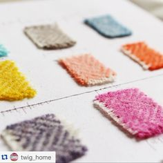 Repost @twig_home - we love your #ss15 colour palette! In answer to your question all of the shades make us smile!  #design #colour #twighome #instagood