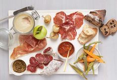 Cheese/ fruit/ meat platter