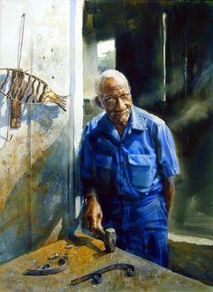 Mary Whyte - Pintor - Retratos - USA