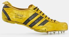 a history of adidas: adi dassler's first track and field shoes - designboom | architecture & design magazine