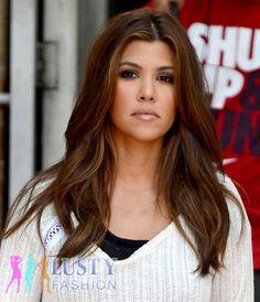 Kourtney Kardashian hairstyles 2013 length/cut