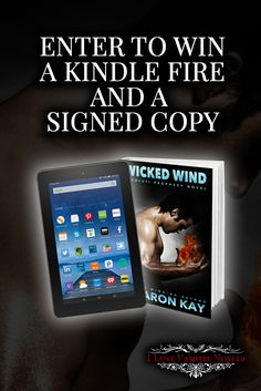Win a Kindle Fire & Signed Copies from Bestselling Author Sharon Kay #Sweepstakes Ends 5/2.