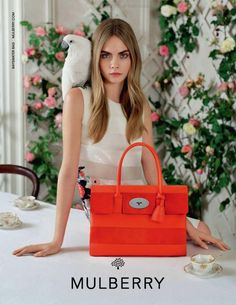 Cara Delevingne Stars In Mulberry's S/S 2014 Campaign