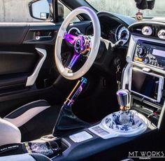 nrg 350mm steering wheel classic pink wood grain neo chrome 3 spoke center awesome garage. Black Bedroom Furniture Sets. Home Design Ideas