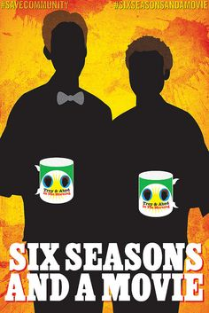 Six seasons and a movie! Troy & Abed in the morning.