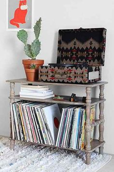 amelia record shelf