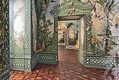 Vienna painted walls