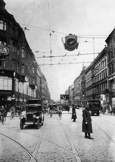 Berlin 1930 Invalidenstrasse Ecke Chausseestrasse