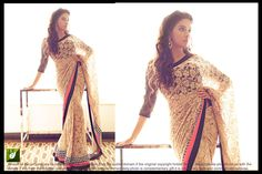 BUY EXCLUSIVE DESIGNER  PCS OF  ASIN  WHITE NET WITH FUNKY BORDER BOLLYWOOD REPLICA SAREE ONLY IN RS 1200 .  CALL/WHATSUP ME : 9377045742