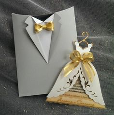 "Wedding Invitation Boxes ""Groom Suit"", Handmade Bridal Invitation Boxes, Invitation Envelopes, Tuxedo Envelope"