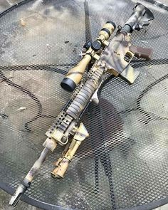 Weapons Guns, Guns And Ammo, Ar 15 Builds, Gun Art, Tac Gear, Firearms, Shotguns, Special Ops, Military Guns