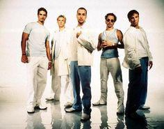 Backstreet Boys...I remember listening to them all the time