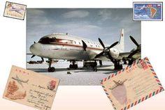 Aeroflot Ilyushin Il-18 Ver.5 Free Airplane Paper Model Download