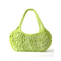 Stylish Market Bag Crochet Pattern. Skill Level: Easy MEASUREMENTS: Approx 20 ins long excluding handles. Cute and stylish bag you can use for trips to the market or when out on the town. Shown in Bernat Handicrafter Cotton. Free Pattern More Patterns Like This!