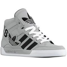 white adidas high tops kids