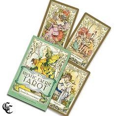 MYSTIC FAERIE TAROT Card Deck & Book Box Set by Ravenscroft & Moore
