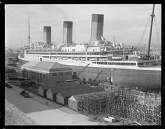 File name: 08_06_005059  Title: SS Majestic   Creator/Contributor: Jones, Leslie, 1886-1967 (photographer)   Date created: 1917 - 1934 (approximate)  Physical description: 1 negative : glass, black & white ; 4 x 5 in.  Genre: Glass negatives   Subjects: Ships; Naval yards & naval stations   Notes: Title from information provided by Leslie Jones or the Boston Public Library on the negative or negative sleeve.; Date supplied by cataloger.  Collection: Leslie Jones Collection  Loc...