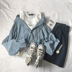 Pin on fashion ideas Pin on fashion ideas Cute Casual Outfits, Girly Outfits, Mode Outfits, Korean Outfits, Retro Outfits, Stylish Outfits, Aesthetic Fashion, Aesthetic Clothes, Estilo Indie