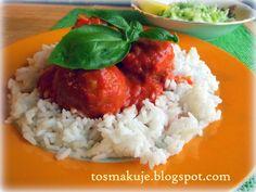 To smakuje: Soczyste pulpety z indyka w sosie pomidorowo paprykowym