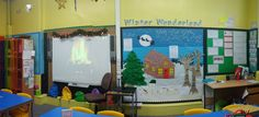 Our Christmas Enterprise wall, all ready for our shop to open in 2 days!