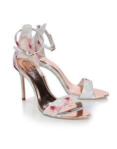 73f1c8065 Ted Baker Women s Charv Strappy Printed Heels - Oriental Blossom - Women s  Heels - Women s Footwear - Women