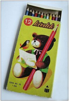 my first pencil crayons