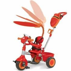 SkyMall 3-in-1 Trike - Orange by SkyMall. $123.11. Little Tikes 3-in-1 Trike with Discover Sounds Dash - Orange The 3-in-1 Trike grows with your child and comes with DiscoverSounds Dash that kids can discover the real sounds of the road while learning how to peddle! Three stages to grow with your toddler: Stage 1-Guided- Parent push and control. Stage 2- Learning- Helps kids learn how to pedal and turn with parent help. Stage 3- Independent- Remove the push bar...