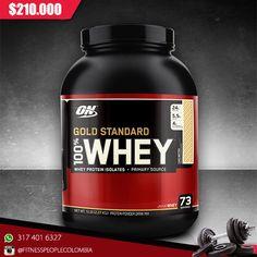 Proteína de calidad superior diseñada a base de suero de leche, otorga una mayor capacidad de absorción. Posee un alto contenido en aminoácidos esenciales y de cadena ramificada BCAA necesarios para aumentar la masa muscular. #Productosfitnesspeople