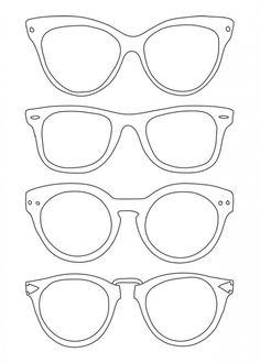sunglasses template