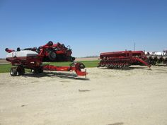 23 row CaseIH 1245 corn planter & 5500  Soybean Special grain drill