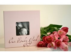 """8×8 """"Our Baby Girl"""" frame 