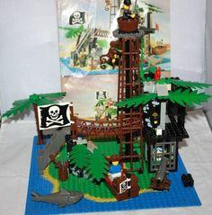 Vintage Lego 6270 Lego Pirate System Forbidden Island