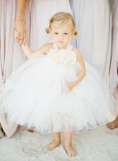 Pretty little flower girl {Photo by KT Merry via Project Wedding}
