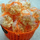 Best Ever Popcorn Balls Recipe  I love these!  3/4 cup light corn syrup  1/4 cup margarine  2 teaspoons cold water  2 5/8 cups confectioners' sugar  1 cup marshmallows  5 quarts plain popped popcorn