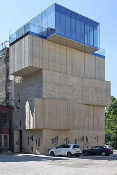 Museum for architectural drawing Berlin by Tchoban architects