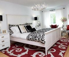 Black White And Red Bedroom Decorating Ideas Https Bedroom Design