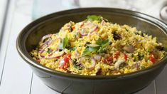 Garam Masala, Fried Rice, Couscous, Feta, Fries, Ethnic Recipes, Bulgur, Nasi Goreng