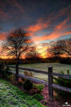 Beautiful Alabama sunset