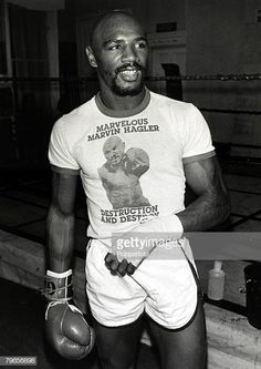 Sport Boxing World Middleweight Title pic September 1980 USA's Marvin Hagler training in London for his fight with Great Britain's Alan Minter. Boxe Mma, Marvelous Marvin Hagler, Boxing Images, Sport Boxing, Boxing History, Boxing Champions, Sport Inspiration, Athletes, Muse