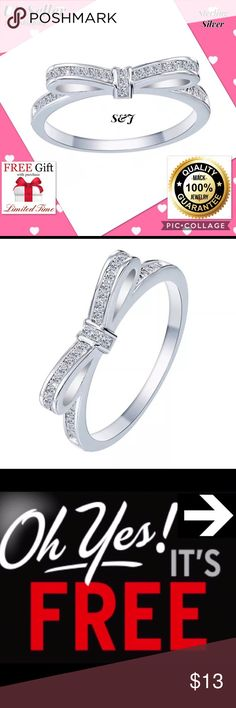 925 sterling silver zubic zircon engegament ring Desciption Condition : 100% Brand New & High Quality  Metal: 925 Silver  Main Stone :Cublic Zirconia  Package Include: 1pc Ring + Limited time free nano microfiber cleaning cloth $19.99 value! We are the new seller but best seller. Now we have a limited time big promotion.  You can use or give gift your mom, dad, friend, sister... When you buy this item Nano technolog Microfiber claening Cloth $19.99 value is free for you! Jewelry Rings